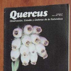 Coleccionismo de Revistas y Periódicos: REVISTA QUERCUS - CUADERNO 35 - ENERO 1989 PERDIZ NIVAL PIRINEOS, ANFIBIOS Y REPTILES CANARIOS.... Lote 96359747