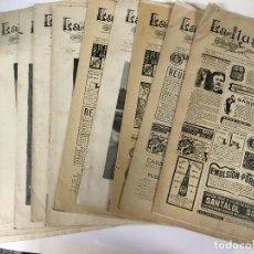 Coleccionismo de Revistas y Periódicos: LOTE 11 REVISTAS LA ILUSTRACION ARTISTICA AÑO 1901, NUMS 995 999 1000 1002 1017 1020 1025 1031 1008. Lote 96369415