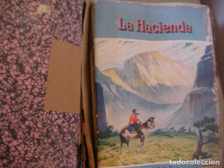 Coleccionismo de Revistas y Periódicos: GRAN TOMO DE REVISTAS LA HACIENDA AÑO 1945 - Foto 2 - 96398399