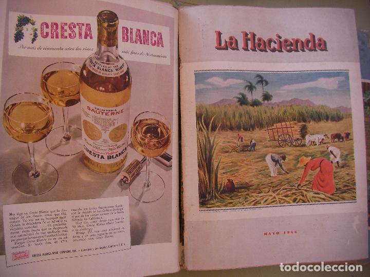 Coleccionismo de Revistas y Periódicos: GRAN TOMO DE REVISTAS LA HACIENDA AÑO 1945 - Foto 3 - 96398399