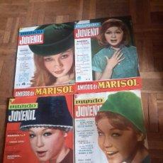 Coleccionismo de Revistas y Periódicos: REVISTA MUNDO JUVENIL, REVISTA DE LOS AMIGOS DE MARISOL . Lote 96511794