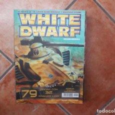 Coleccionismo de Revistas y Periódicos: REVISTAS WHITE DWARF Nº 79,EL SEÑOR DE LOS ANILLOS LOS TESOROS DE LOS ANCESTRALES EN ALBION,. Lote 211720765