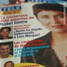 Coleccionismo de Revistas y Periódicos: TELE INDISCRETA Nº 624 ISABEL GEMIO LINA MORGAN ANA OBREGON 1997. Lote 96595943