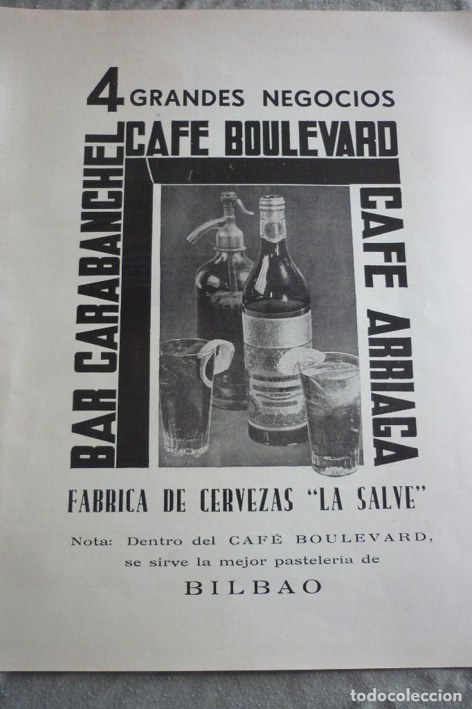 FÁBRICA DE CERVEZAS LA SALVE. PUBLICIDAD ARTÍCULO ORIGINAL. REVISTA AÑO 1937 (Coleccionismo - Revistas y Periódicos Antiguos (hasta 1.939))
