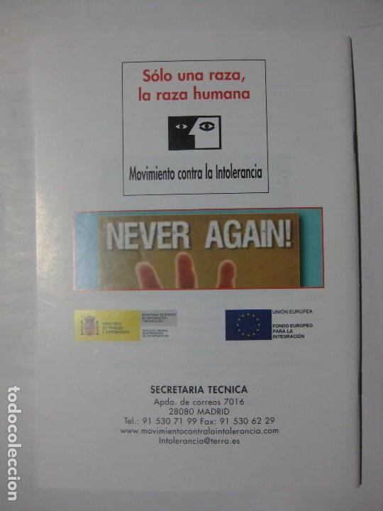 Coleccionismo de Revistas y Periódicos: CUADERNOS DE ANÁLISIS Nº 43 - MOVIMIENTO CONTRA LA INTOLERANCIA - Foto 2 - 96692487
