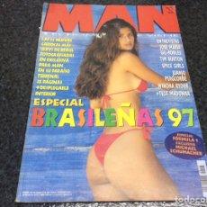 Coleccionismo de Revistas y Periódicos: MAN Nº 113, ESPECIAL BRASILEÑAS-97, WINONA RYDER, TIM BURTON,. Lote 96692847
