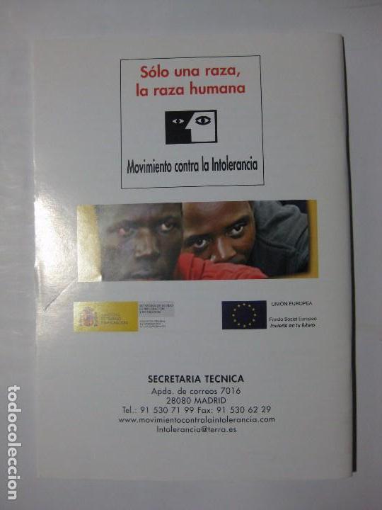 Coleccionismo de Revistas y Periódicos: CUADERNOS DE ANÁLISIS Nº 32 - MOVIMIENTO CONTRA LA INTOLERANCIA - Foto 2 - 96692911