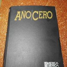 Coleccionismo de Revistas y Periódicos: ARCHIVADOR TAPAS REVISTA AÑO CERO (HOBBY PRESS): REVISTAS 1 A 14. MISTERIO, ENIGMAS, MÁS ALLÁ.... Lote 96891011