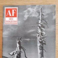 Coleccionismo de Revistas y Periódicos: REVISTA AF ARTE FOTOGRÁFICO / Nº 42 / JUNIO 1955. Lote 96908367