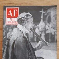 Coleccionismo de Revistas y Periódicos: REVISTA AF ARTE FOTOGRÁFICO / Nº 46 / OCTUBRE 1955. Lote 96908519