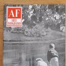 Coleccionismo de Revistas y Periódicos: REVISTA AF ARTE FOTOGRÁFICO / Nº 47 / NOVIEMBRE 1955. Lote 96908663