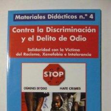 Coleccionismo de Revistas y Periódicos: MOVIMIENTO CONTRA LA INTOLERANCIA / MATERIALES DIDÁCTICOS Nº 4. Lote 96942019