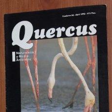 Coleccionismo de Revistas y Periódicos: REVISTA QUERCUS - CUADERNO 86 - ABRIL 1993 LAGUNA FUENTE DE PIEDRA, SARNA CABRAS MONTESES. Lote 96980511