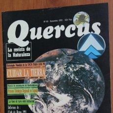 Coleccionismo de Revistas y Periódicos: REVISTA QUERCUS - CUADERNO 69 - NOVIEMBRE 1991 MEDIO AMBIENTE, DESARROLLO SOSTENIBLE.... Lote 96981307