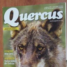 Coleccionismo de Revistas y Periódicos: REVISTA QUERCUS - CUADERNO 292 - JUNIO 2010 - LOBO EN EXTREMADURA, ANFIBIOS GALICIA, QUEBRANTAHUESOS. Lote 96983875