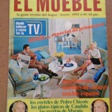 Coleccionismo de Revistas y Periódicos: REVISTA EL MUEBLE NÚMERO 99 MARZO 1970. Lote 96985891