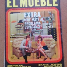 Coleccionismo de Revistas y Periódicos: REVISTA EL MUEBLE NÚMERO 101 MAYO 1970. Lote 96986143
