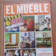 Coleccionismo de Revistas y Periódicos: REVISTA EL MUEBLE NÚMERO 82 OCTUBRE 1968. Lote 96986363