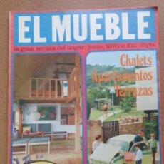 Coleccionismo de Revistas y Periódicos: REVISTA EL MUEBLE NÚMERO 102 JUNIO 1970. Lote 96986539