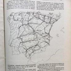 Coleccionismo de Revistas y Periódicos: RED NACIONAL DE ENERGÍA ELÉCTRICA.REVISTA AÑO 1920. Lote 97044067