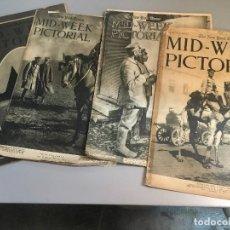 Coleccionismo de Revistas y Periódicos: 4 NUMEROS DE THE NEW YORK TIMES MID-WEEK PICTORIAL. SEMANARIO ESTADOUNIDENSE DE NOTICIAS.. Lote 97073655