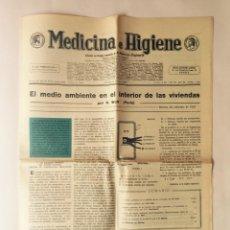 Coleccionismo de Revistas y Periódicos: ANTIGUO PERIÓDICO. MEDICINA E HIGIENE EN ESPAÑOL. Nº210, BILBAO, 1971. Lote 97126323
