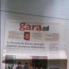 Coleccionismo de Revistas y Periódicos: GARA EJEMPLAR Nº1. Lote 97131715