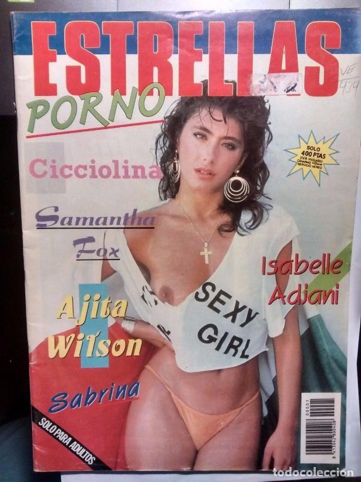 Sabrina Salerno Samantha Fox Revista Estrel Comprar Otras