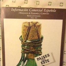 Coleccionismo de Revistas y Periódicos: INFORMACION COMERCIAL ESPAÑOLA - REVISTA DE ECONOMIA - Nº 584. PAISES DEL ESTE. Lote 97170163
