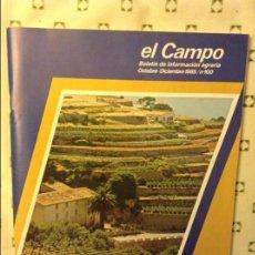 Coleccionismo de Revistas y Periódicos: EL CAMPO. BOLETIN DE INFORMACION AGRARIA. OCTUBRE - DICIEMBRE 1985 / Nº 100 (LAS ISLAS BALEARES). Lote 97170271