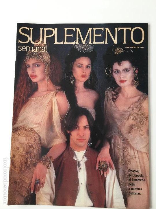 REVISTA SUPLEMENTO SEMANAL Nº272 -10 ENE.1993. KEANU REEVES, ROSSY DE PALMA, JUAN LUÍS GUERRA... (Coleccionismo - Revistas y Periódicos Modernos (a partir de 1.940) - Otros)