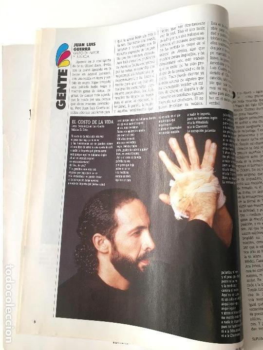 Coleccionismo de Revistas y Periódicos: Revista Suplemento Semanal Nº272 -10 ene.1993. Keanu Reeves, Rossy de Palma, Juan Luís Guerra... - Foto 3 - 97205091