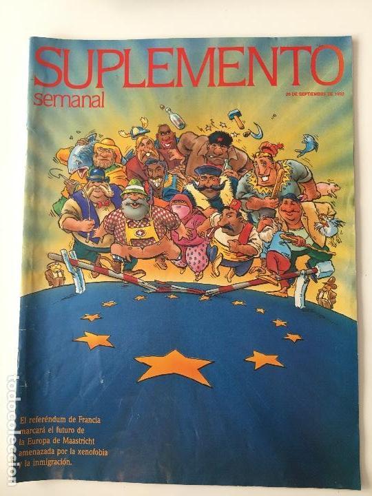 REVISTA SUPLEMENTO SEMANAL Nº256 -20 SEP.1992. ESTHER ARROYO, MICHAEL JACKSON... (Coleccionismo - Revistas y Periódicos Modernos (a partir de 1.940) - Otros)