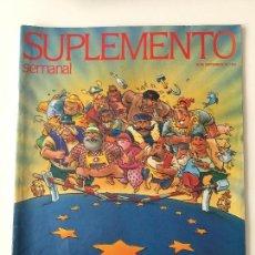 Coleccionismo de Revistas y Periódicos: REVISTA SUPLEMENTO SEMANAL Nº256 -20 SEP.1992. ESTHER ARROYO, MICHAEL JACKSON.... Lote 97205707