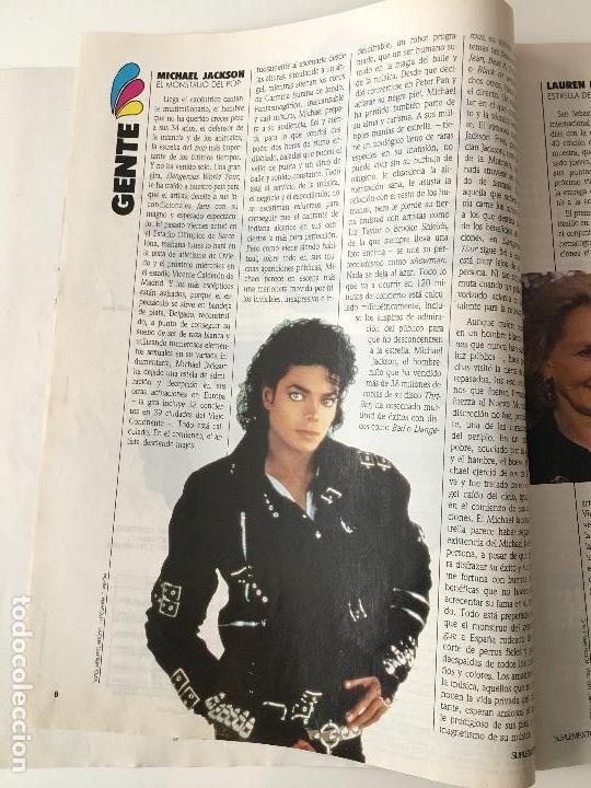 Coleccionismo de Revistas y Periódicos: Revista Suplemento Semanal Nº256 -20 sep.1992. Esther Arroyo, Michael Jackson... - Foto 3 - 97205707