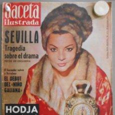 Coleccionismo de Revistas y Periódicos: XX41 SARA MONTIEL REVISTA ESPAÑOLA GACETA ILUSTRADA DICIEMBRE 1961. Lote 97225523