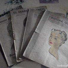 Coleccionismo de Revistas y Periódicos: LOTE 5 NOVELAS REVISTA LITERARIA. Lote 97248995