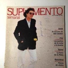 Coleccionismo de Revistas y Periódicos: REVISTA SUPLEMENTO SEMANAL Nº310 -3 OCT.1993. BARBRA STREISAND, DARYL HANNAH, NATALIA ESTRADA... . Lote 97255387
