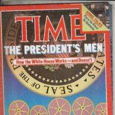 Coleccionismo de Revistas y Periódicos: REVIST ATIME 14 DIECIEMBRE AÑO 1981. LOS HOMBRES DEL PRESIDENTE.. Lote 97284379