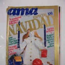 Coleccionismo de Revistas y Periódicos: REVISTA AMA Nº 528. DICIEMBRE AÑO 1981. TE AYUDAMOS A PREPARAR TODO PARA NAVIDAD. TDKR42. Lote 97306039