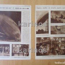 Coleccionismo de Revistas y Periódicos: 1929 DIRIGIBLE R 101 EL MAYOR DEL MUNDO. HIJA DEL PRESIDENTE DE CUBA EN LA EXPOSICIÓN DE SEVILLA (85. Lote 97323667