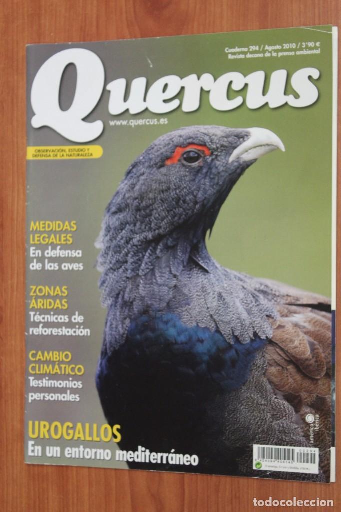 REVISTA QUERCUS - CUADERNO 294 - AGOSTO 2010 - UROGALLO, ZONAS ARIDAS, CAMBIO CLIMATICO (Coleccionismo - Revistas y Periódicos Modernos (a partir de 1.940) - Otros)