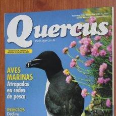 Coleccionismo de Revistas y Periódicos: REVISTA QUERCUS - CUADERNO 295 - SEPTIEMBRE 2010 - AVES MARINAS, INSECTOS MADRID, LOBO. Lote 97329355