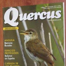 Coleccionismo de Revistas y Periódicos: REVISTA QUERCUS - CUADERNO 297 - NOVIEMBRE 2010 - ANGUILA, AVES PALUSTRES CORRUBEDO. Lote 97329551