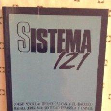 Coleccionismo de Revistas y Periódicos: REVISTA SISTEMA 121 - JULIO 1994 -. Lote 97375775