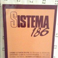 Coleccionismo de Revistas y Periódicos: REVISTA SISTEMA 186 - MAYO 2005 -. Lote 97375919