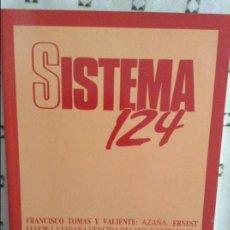 Coleccionismo de Revistas y Periódicos: REVISTA SISTEMA 124 - ENERO 1995 -. Lote 97376123