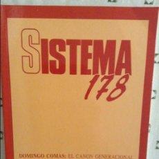 Coleccionismo de Revistas y Periódicos: REVISTA SISTEMA 178 - ENERO 2004 -. Lote 97376299