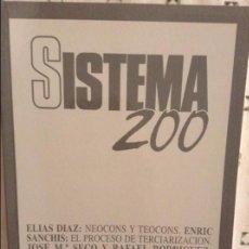 Coleccionismo de Revistas y Periódicos: REVISTA SISTEMA 200 - SEPTIEMBRE 2007 -. Lote 97376479