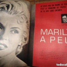 Coleccionismo de Revistas y Periódicos: ANTIGUO TOMO REVISTA MARIE FRANCE - ARTICULOS MARILYN MONROE - GOYA ... VER FOTOS. Lote 97440223